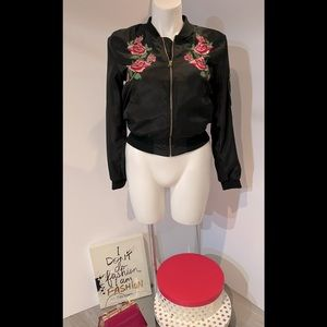 LOVE TREE Rose's Embroidered Jacket